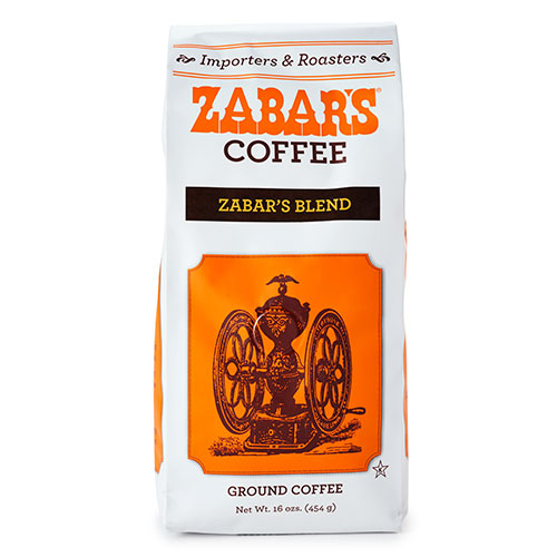 Zabar's Special Blend Vacuum Packed Coffee - 16oz  (Kosher), , large