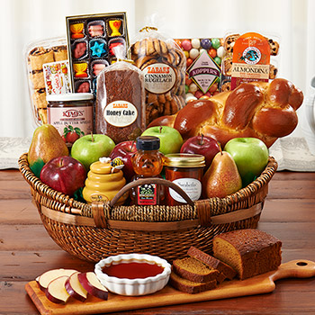 L' Shana Tova Basket (Kosher), , large