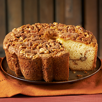 Zabar's Original Cinnamon Walnut Coffee Cake 1.75lb