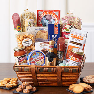 Gift baskets boxes zabars housewarming gifts negle Images