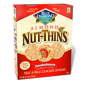 Blue Diamond Almond Nut-Thins Smokehouse - 4.24oz (Kosher), , large