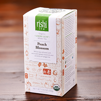Rishi Tea Organic Peach Blossom - 1.13oz Loose Leaf, , large