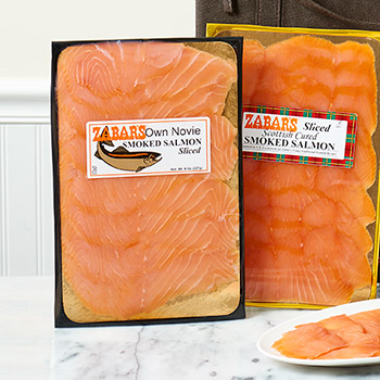 Zabar's Prepack Nova Salmon (Kosher for Passover), , large