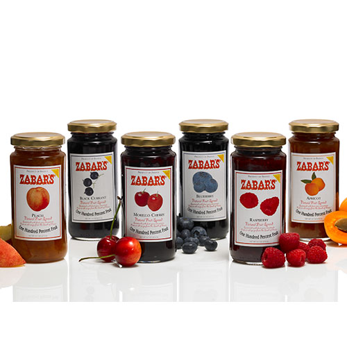 Zabar's Natural Fruit Spreads - 8.8oz, , large