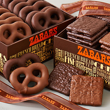 Zabar's Chocolate-Covered Graham Crackers (Kosher), , large