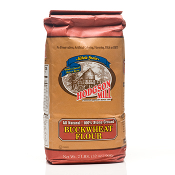 Hodgson Mill 100% Stone Ground Buckwheat Flour - 2 lbs., , large