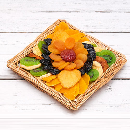Zabar's Square Fruit Basket 24oz (Kosher), , large