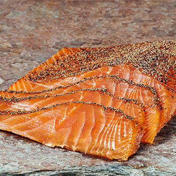 Zabar's Handsliced Peppered Nova Salmon, , large