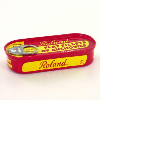 Roland Flat Fillets of Anchovies - 2oz (Kosher), , large