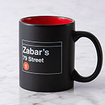Zabar's 79th Street Subway Mug