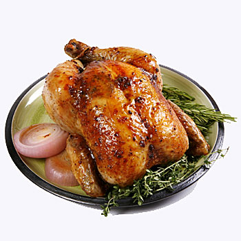 Rotisserie Free Roaming Chicken by Zabar's - min. wt. 2.5lbs