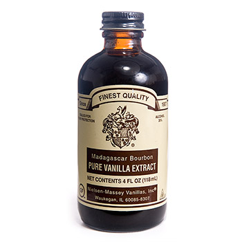 Madagascar Bourbon Pure Vanilla Extract 4oz