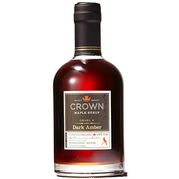 Crown Maple's Dark Color Organic Maple Syrup 12oz, , large
