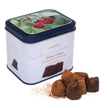 Dream of Truffles with Raspberry in Finland Tin, , large