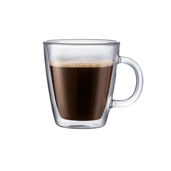 Bodum Bistro DoubleWall ThermoGlass Mugs 4.7oz (Pair) #10602, , large