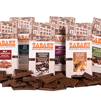 Zabar's 3oz Chocolate Bars (Kosher), , large