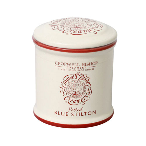 Long Clawson Blue Stilton in Ceramic Jar 8-oz, , large
