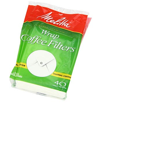 Melitta Wrap Coffee Filters - (40ct.), , large