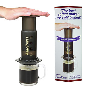 Aerobie AeroPress Coffee and Espresso Maker #82R08, , large