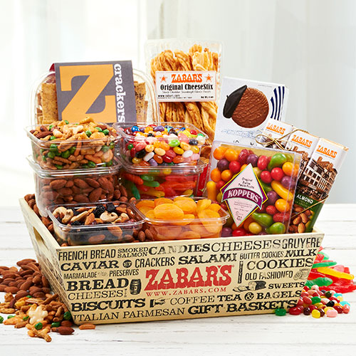 Zabar's Snack Crate, , large