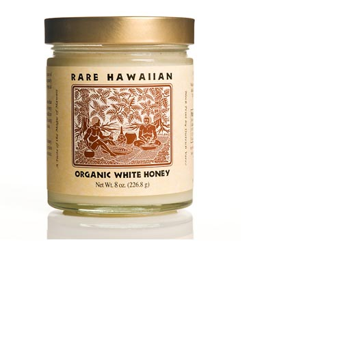 Rare Hawaiian Organic White Honey - 8oz, , large