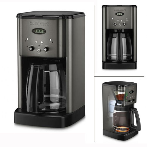 Cuisinart Brew Central 12 Cup Programmable Stainless Steel Coffeemaker #DCC-1200, , large