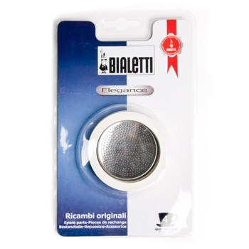 Bialetti Rubber Rings and Stainless Steel Filter Plate 4-cup, , large