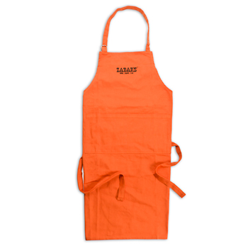 Zabar's Classic Orange Apron, , large