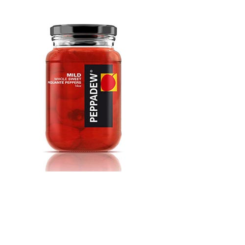 Peppadew Mild Whole Sweet Piquante Peppers - 14 oz (Kosher), , large