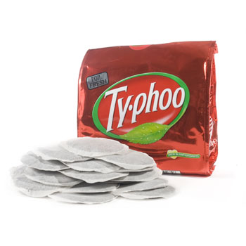Ty-phoo Round Tea Bags - 80ct  (Kosher), , large