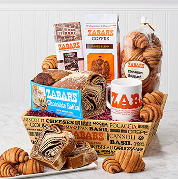 Zabar's Babka & Rugelach Crate (Kosher)