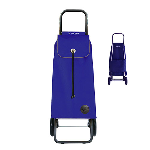 Rolser 2 Wheels Compact Shopping Cart Blue, , large