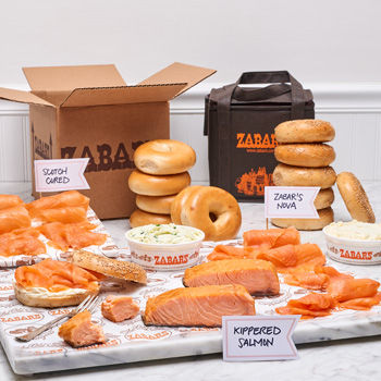 Zabar's Smoked Fish Kit
