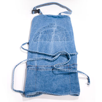 Zabar's Denim Apron, , large