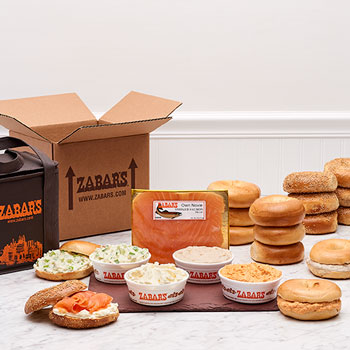 Zabar's Bagels & Spreads Kit
