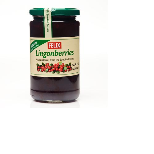 Felix Lingonberries Preserve - 14.5oz, , large