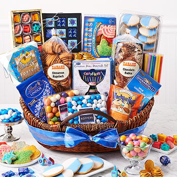 Hanukkah Basket (Kosher), , large