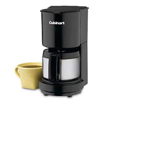Cuisinart 4-cup Coffeemaker Brushed SS #DCC-450BK, , large