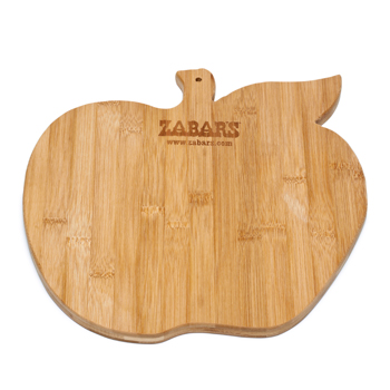 Zabar's Bamboo Big Apple Cutting Board, , large