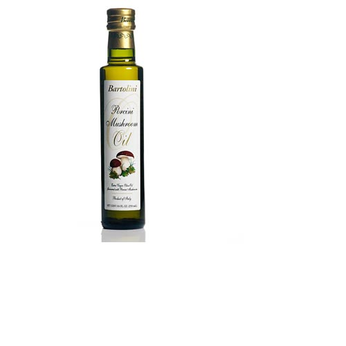 Bartolini Extra Virgin Olive Oil with Porcini Mushroom 8.4 Fl.OZ., , large