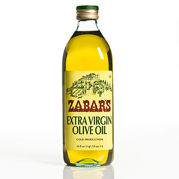 Zabar's Italian Extra Virgin Olive Oil - 34oz (Kosher)