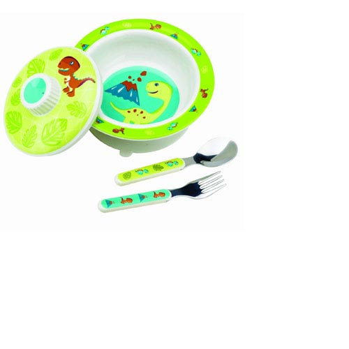 SugarBooger by O.R.E. Baby Bowl Set - (Prehistoric Pals), , large