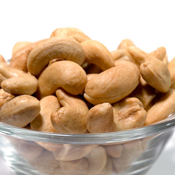 Roasted Cashews - Unsalted - 8oz
