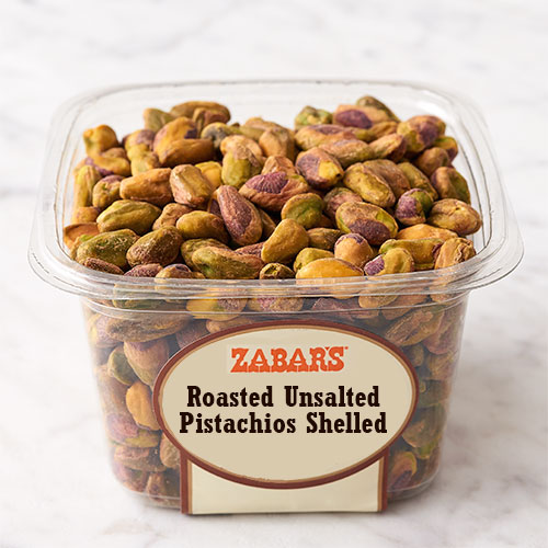 Zabar's Roasted Unsalted Shelled Pistachios 8oz, , large