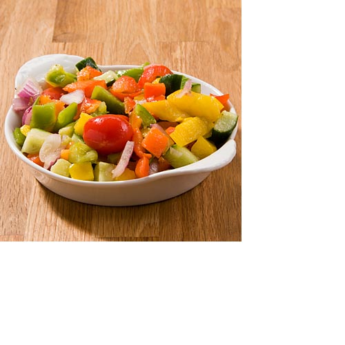 Israeli Vegetable Salad by Zabar's 1lb, , large