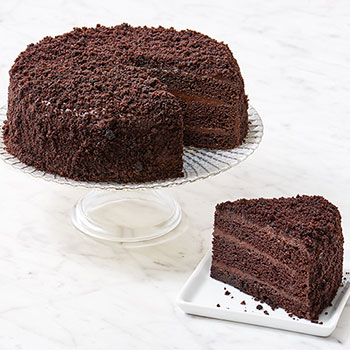 "New York Blackout Cake 7"" (Kosher- Dairy), , large"