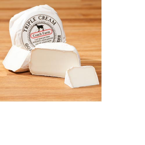Coach Farm Triple Cream Goat Cheese Disc - 6 oz, , large