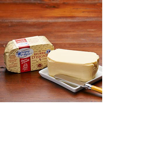 Beurre d'Isigny Chrned - Unsalted 250 grams, , large