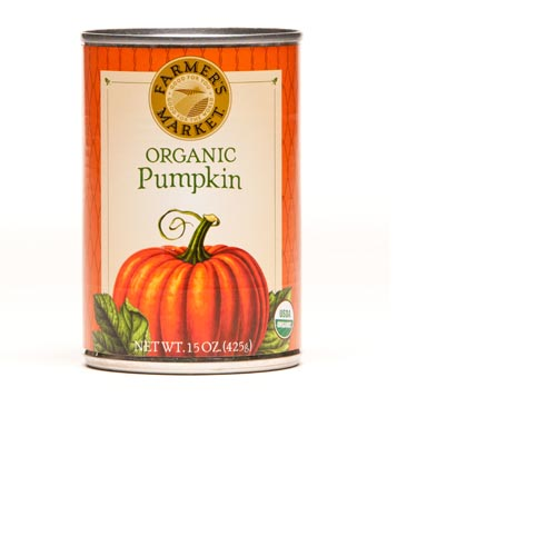 Farmer's Market Organic Pumpkin 15oz (Kosher), , large
