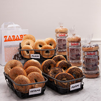 Zabar's NY Original 18 Assorted Bagel Bundle (Kosher), , large